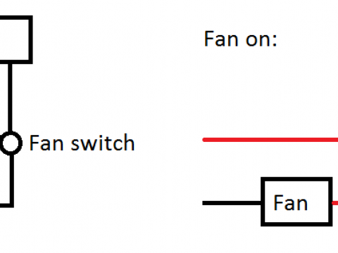 Wiring Advice for a VHF & Fan
