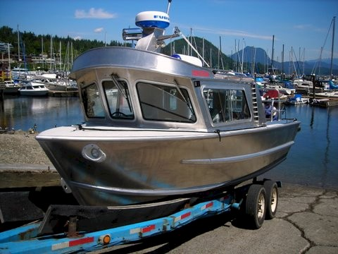 "Custom 24ft Aluminum Boat - ""Banked Daze"""