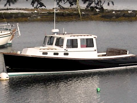 "Lobster Styled Boat - ""Margaret"""