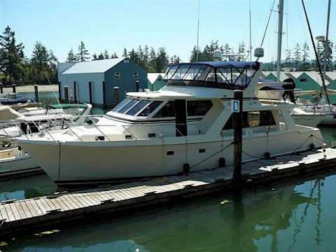 "Twin Deck Pilothouse 54 - ""Mystery Star"""
