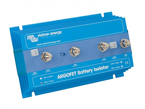 Battery Isolator With Two Alternators