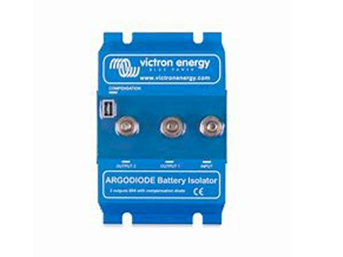 Can I Install a Battery Isolator if I Have a Lead Acid Battery for Cranking and an AGM House Bank?